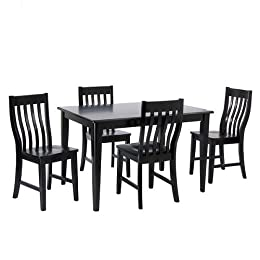 pc dining set with table chairs from target dining room furniture