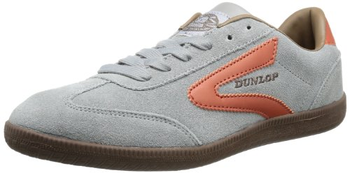 Dunlop Clay Court Low Top Mens Gray Grau (Grey/Bombey Brown) Size: 10 (44 EU)