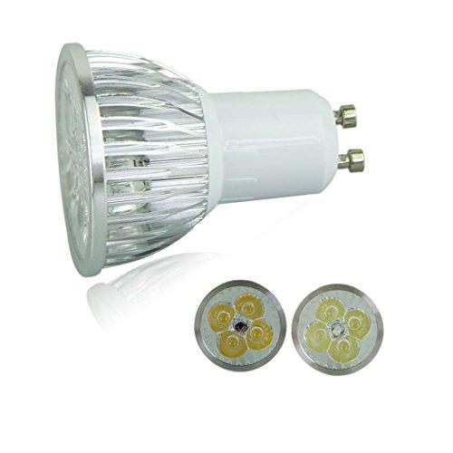 Voberry Ultra Bright Gu10 Led Spot Lights Lamp Bulb 9W 60 Degrees 85-265V Warm White (Warmwhite)