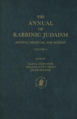 The Annual of Rabbinic Judaism: Ancient, Medieval, and Modern