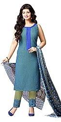 Mahaveer Fashion Women's Dress Material (8956_25_72002_Blue_Free Size)