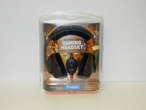 Brand New Plantronics Gamecom 367 Closed-Ear Gaming Headband Headset Chat Pc Mac - Rugged
