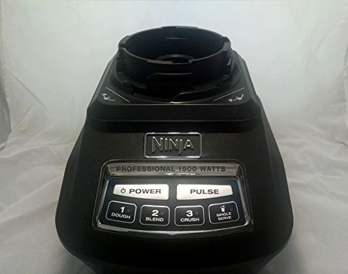 Ninja Blender Power Motor Base 1500w Black Replacement BL770 BL771 BL773 (Ninja Kitchen System Bl772 compare prices)