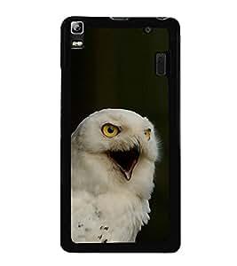 White Eagle 2D Hard Polycarbonate Designer Back Case Cover for Lenovo K3 Note :: Lenovo A7000 Turbo