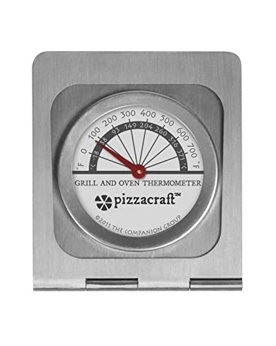 Pizzacraft Steel Oven and Grill Thermometer