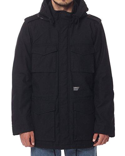 Carhartt uomo giacche Hickman Coat, Black, XXL