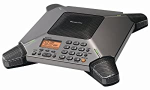 Panasonic KX-TS730S 8-Microphone Conference Speakerphone with Caller ID and 120-Minute Recording