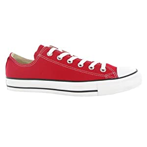 Converse CT All Star Ox Red Canvas Womens Trainers Size 5.5 UK