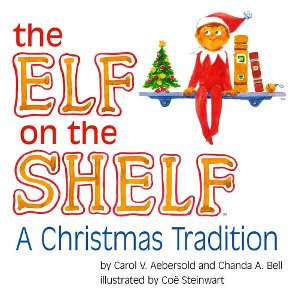 the elf on the shelf christmas traditions book. Black Bedroom Furniture Sets. Home Design Ideas