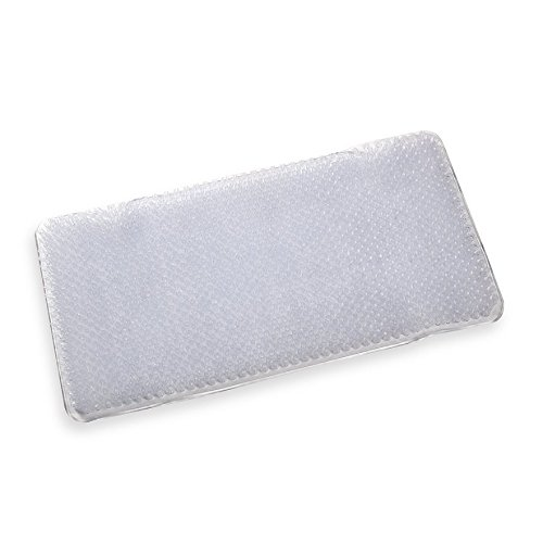 Rubber Grass Anti-slip Shower Tub Bath Mat, Colors May Vary - 1