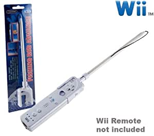 Wii fishing rod video games for Wii fishing rod