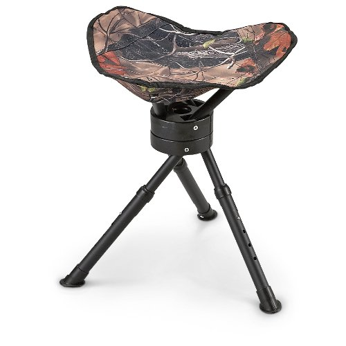 Best Price! Guide Gear Swivel Tripod Hunting Stool