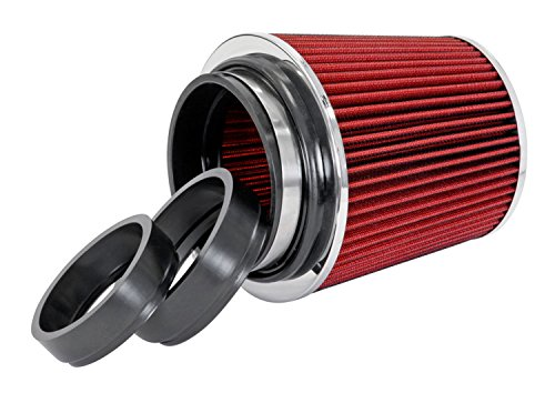 """Spectre Performance 8132 Red 4-1/2"""" Air Filter"""
