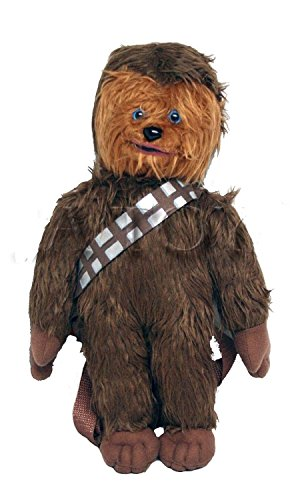 "Disney Star Wars 16"" inches Chewbacca Plush Backpack NEW Licensed Product"