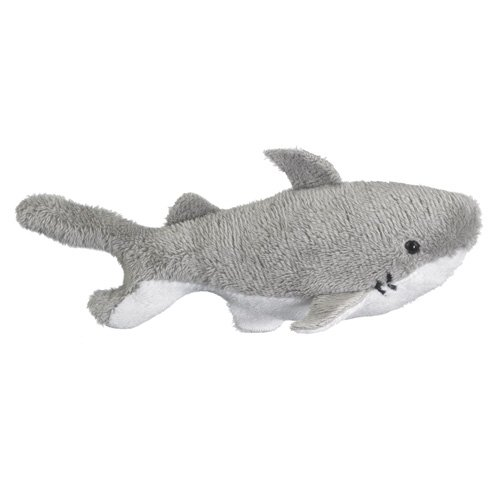 Stuffed Great White Shark Toy By Wild Life Artist front-529317
