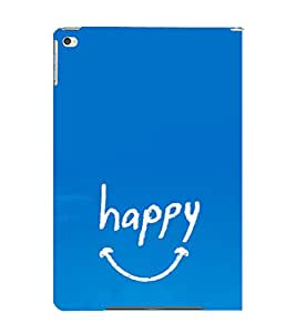 EPICCASE Happy case Mobile Back Case Cover For Apple Ipad Air 2 (Designer Case)