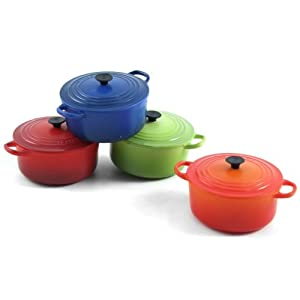 Le Creuset Set of 4 Round French Oven Magnets