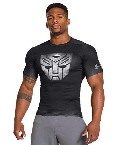 Under Armour Men's Alter Ego Transformers Autobots Metal Compression Shirt Extra Large Black