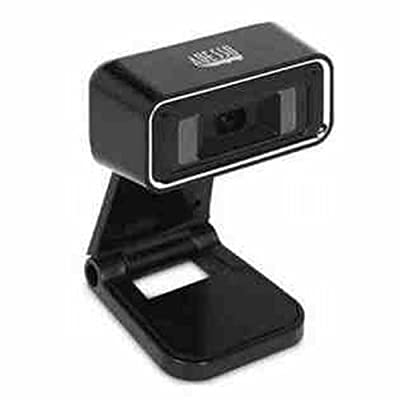 Adesso 720p HD Desktop USB Webcam with Built-In Microphone (CyberTrackH1)