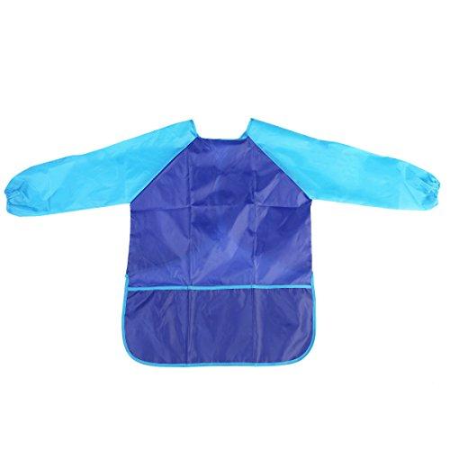 winomo-enfants-impermeable-tablier-peinture-blouse-a-manches-longues-avec-poches-bleu