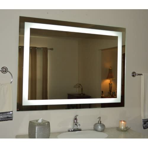 Wall Mounted Lighted Vanity Mirror LED MAM84836 Commercial Grade 48