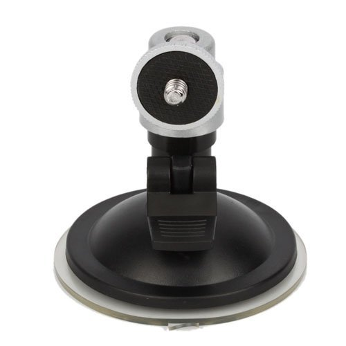 Niceeshop(Tm) Mini Camera Gps Suction Mount Tripod Holder Fix On Car Wind Screen -Silver