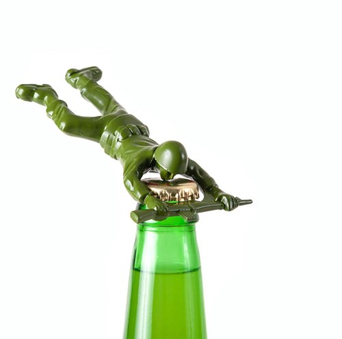 1 X Army Man Bottle Opener EM 0253