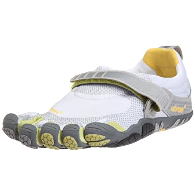 Vibram Fivefingers Bikila (42 Mens, Light Grey/Palm/Dark Grey) - M345