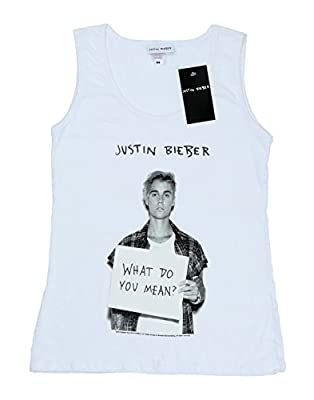 Justin Bieber Women's What Do You Mean Tank Top