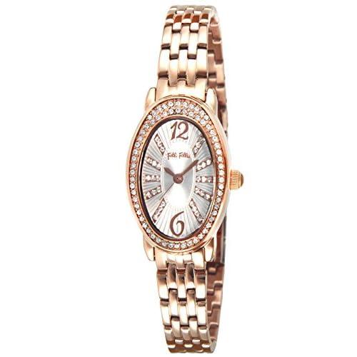 [フォリフォリ]FOLLI FOLLIE 腕時計 アイビー ホワイト文字盤 ステンレス(PGPVD) WF13B016BSW レディース 【並行輸入品】
