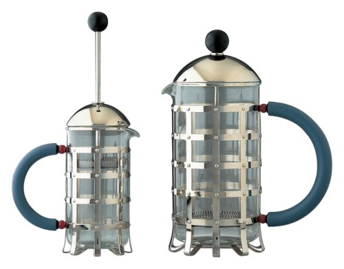 Alessi Press Filter Coffee Maker, 3 Cups (MGPF 3)