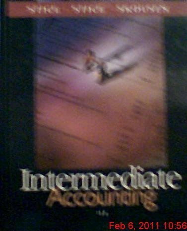 Stice, James D.; Stice, Earl K.; Skousen, Fred's Intermediate Accounting 15th (fifteenth) edition by Stice, James D.; Stice, Earl K.; Skousen, Fred published by South-Western College Pub [Hardcover] (2003)