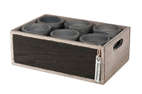wooden-chalkboard-box-with-6-clay-pots-29cm