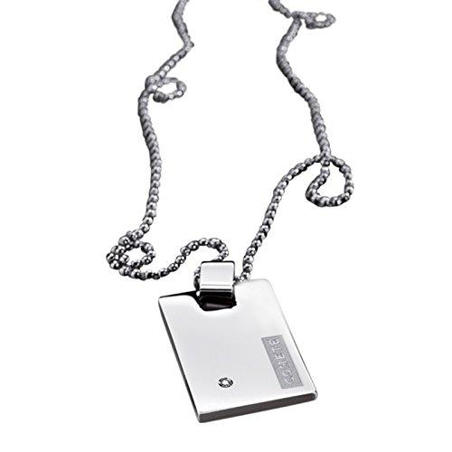 Dog Tag collana da uomo Comete Gioielli con acciaio inox 52 cm UGL113