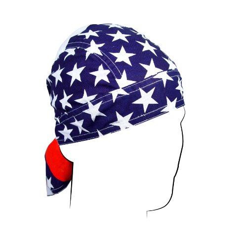 ZANheadgear Flydanna 100 Percentage Cotton American Flag Bandanna