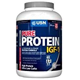 USN Pure Protein IGF-1 1000 g Chocolate -- Blend of Whey Isolate / Micellar Casein / Calcium Caseinate / Egg / Soy