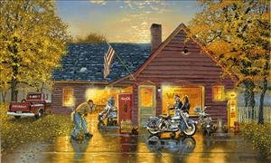 Dave Barnhouse Motorcycle print-PERFECT PHOTO