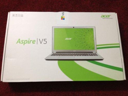 Acer-Aspire-V5-571-6806-15-6-LAPTOP-Core-i5-3317U-6GB-RAM-750GB-HDD-Windows-8-802-11a-g-n-webcam-Silver