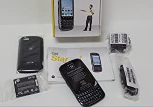 Motorola Admiral XT603 Sprint CDMA Extremely Durable 3G Android Smartphone - Dark Gray