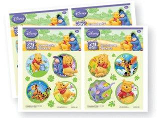 Winnie the Pooh Bär Sticker mit Glitter und Strass