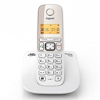 Gigaset A530 Cordless Landline Phone (white)