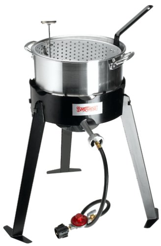 Bayou Classic 2212 Aluminum Outdoor Fish Cooker Set