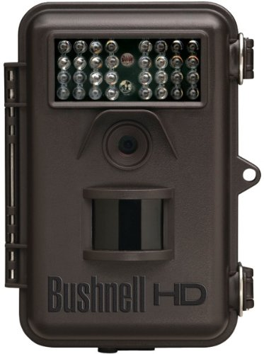 Bushnell - Trophy Trail Night-Vision Cam (Brown) *** Product Description: Bushnell - Trophy Trail Night-Vision Cam (Brown) 8 Megapixel, High-Quality, Full-Color Resolution Field Scan 2X Hyper Night Vision Black Leds 32 Low-Glow Leds With 45Ft Ran ***