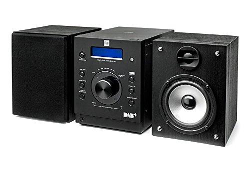 DAB 501 Kompaktanlage (CD-Player, DAB, DAB+, UKW-Tuner, 10 Watt, Aux-In) schwarz
