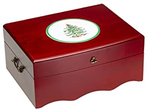 Spode Christmas Tree Storage Chest