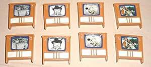 8 Classic TV Magnets
