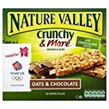 Nature Valley Crunchy & More Granola Bars Oats & Chocolate 10 X 21G