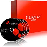 Learn French: Fluenz French 1+2+3+4+5 with supplemental Audio CDs and Podcasts