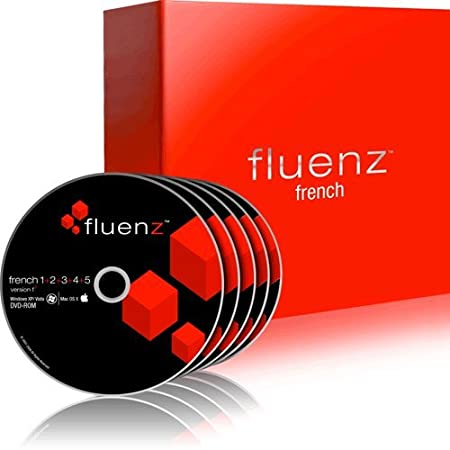 Fluenz French 1+2+3+4+5 with supplemental Audio CDs and Podcasts