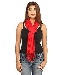 lotusa red scarf